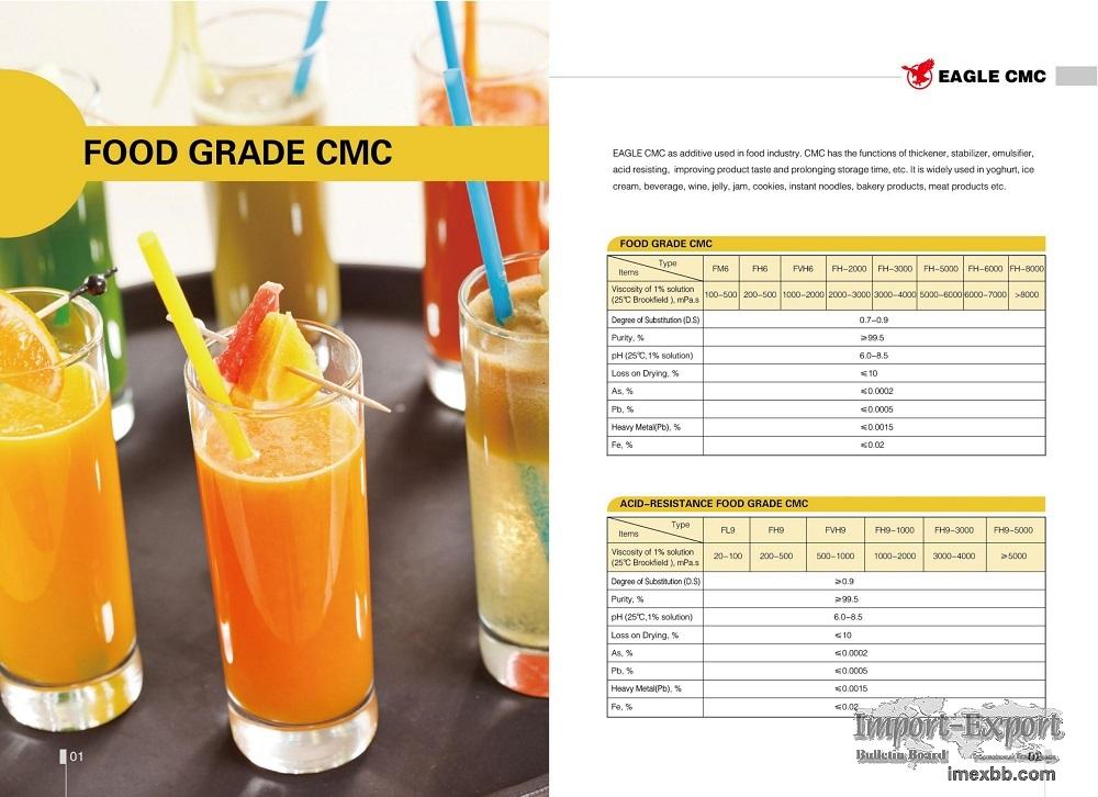 Food Grade CMC, Cellulose gum, thickener, thickening agent