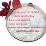 CHINA boric acid flake cas 11113-50-1 in low price, sales15@aoksbio.com