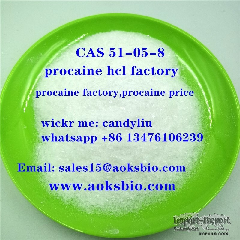 buy procaine hydrochloride,best price for procaine hcl, cas 51-05-8