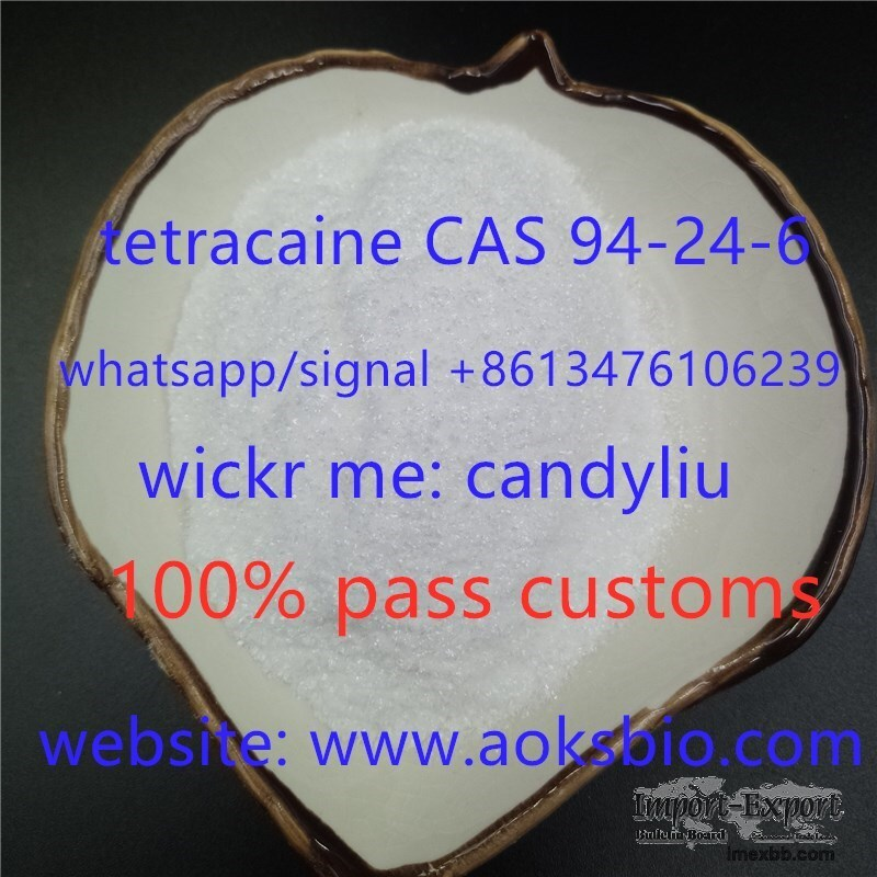 where to buy real chemical powder tetracaine 94-24-6 at factory price?come