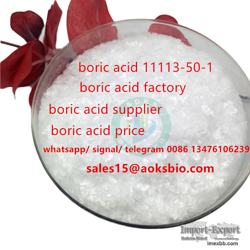 I want to sell boric acid at factory price to EUROPE,cas 11113-50-1