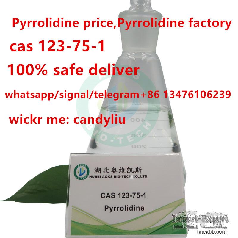 discount price for pyrrolidine,cas 123-75-1,sales15@aoksbio.com