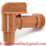 Rubinetto 3/4'' BSP in polietilene per fusti