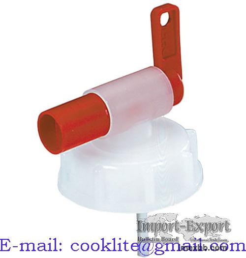 Rubinetto per tanica da 10 lt / Rubinetto plastica per tanica DIN 51mm