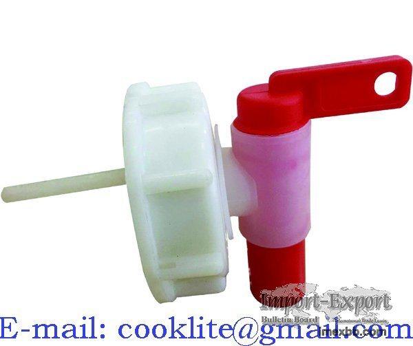DIN 61 kifolyócsap 20 l és 60 l műanyag kannához