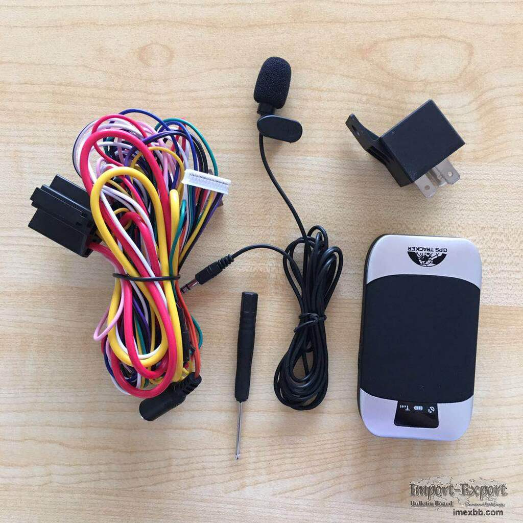 China Manufacturer Mini Motorcycle GPS Tracker 303h with Google Maps