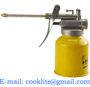 Steel Pistol Oiler Lever Hydraulic Pump Oil Can Dispenser Lubricating Lathe