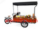 fast food tricycle coffee vending cart