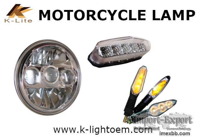 Motorcycle light Tail light indicator light, Brake light DRL Headlight