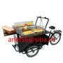 luminum frame three wheel mini food bike for sale