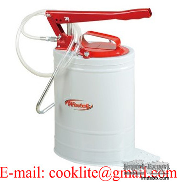 Hand Operated Oil Filler Lubrication Bucket Pump - 20L