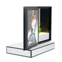Acrylic Makeup Organizer Perfume Display Rack Cosmetic Advertising LED Disp