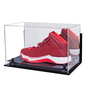 Luxury Sneaker Plexiglass Box Rotating 100% Clear Color Acrylic Shoe Case D