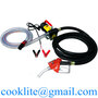 Fuel Dispenser Electric Oil Diesel Transfer Pump with Metering Fuel Nozzle
