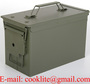 M2A1 50 Cal Metal Ammunition Can Military Ammo Box