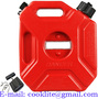3L Portable Jerry Can Gas Plastic Fuel Tank Petrol ATV UTV Motorcycle/Car