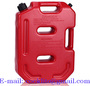 10L Plastic Jerry Can Portable Diesel Oil Fuel Tank for SUV ATV Car Motorcy