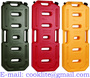HDPE Fuel Jerry Can Polyethylene Plastic Gas Can with Flexible Spout 20L