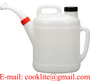 Polyethylene Fuel Oil Measuring Container Cool Water Canister Watering Can