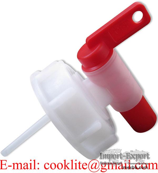 Aeroflow Breather Drum Dispensing Tap in Screw Lid DIN61 Plastic Spigot Fau