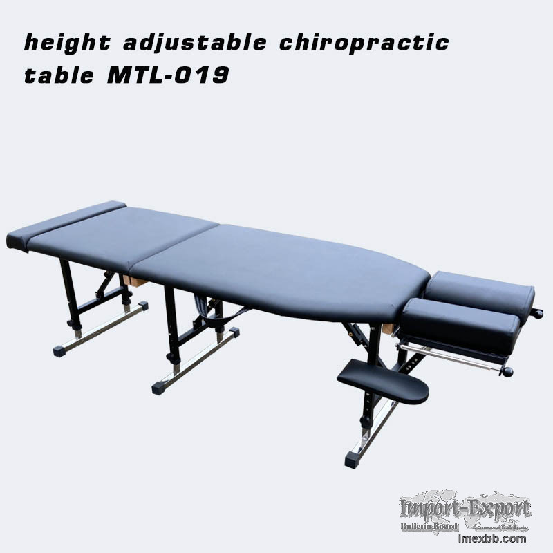 portable chiropractic table and treatment table
