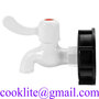 IBC Water Tank Garden Hose Adapter Fittings With Switch IBC Faucet Tap Spig