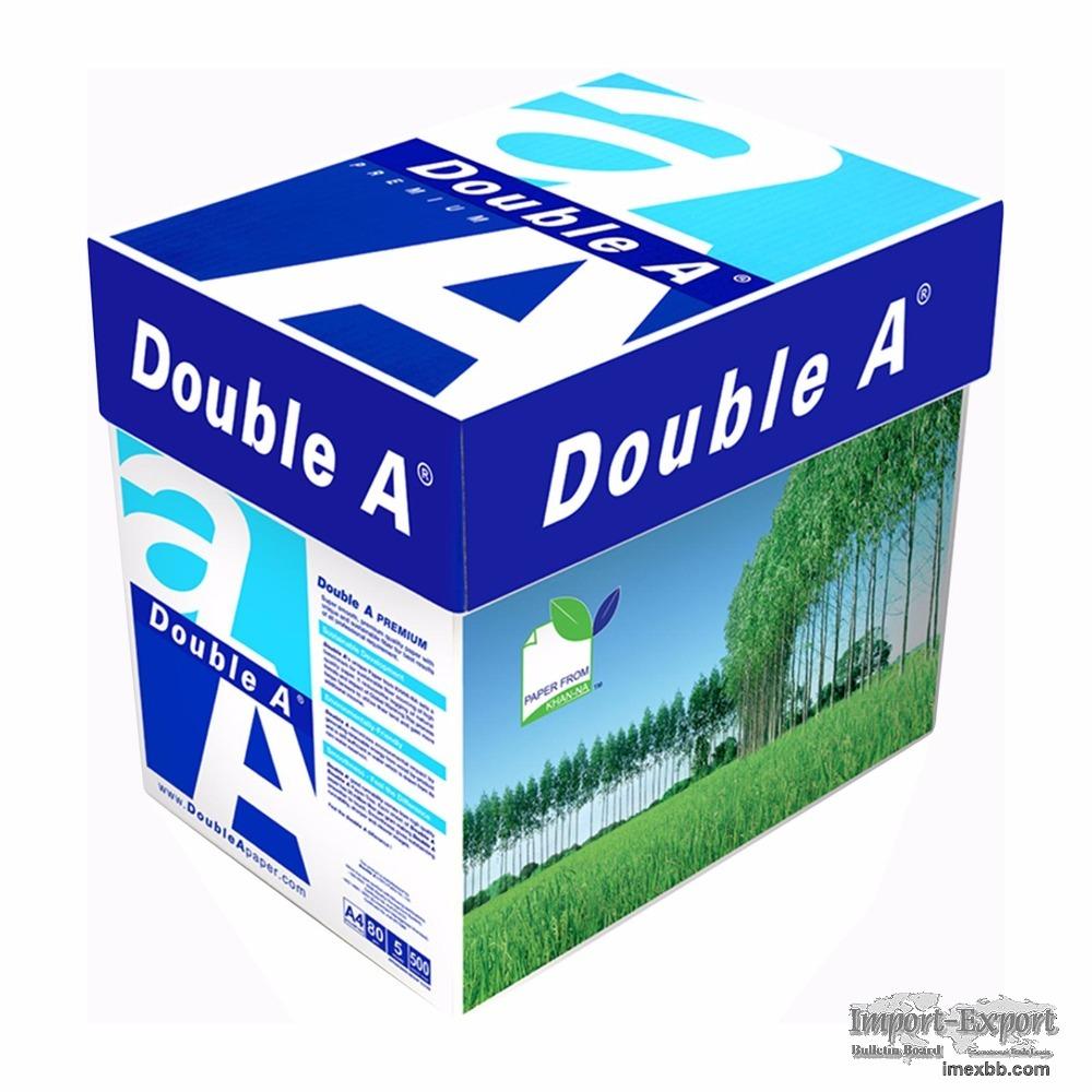Double A A4 Paper 80gsm Copy Paper $4/Box 2500 sheets