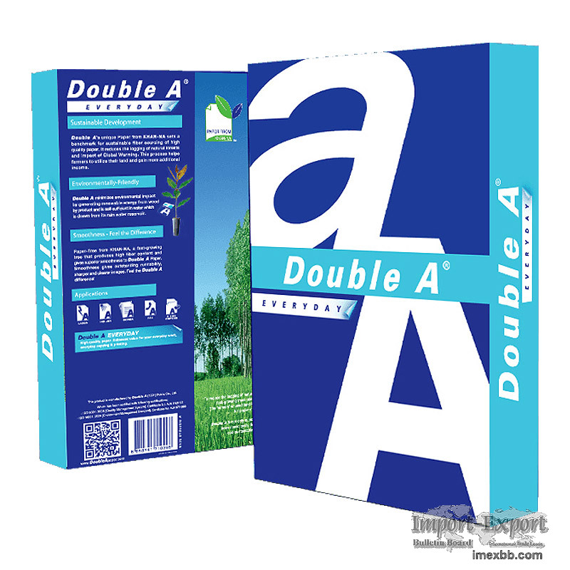 Double A A4 Copier Paper( 80gsm, 75gsm, 70gsm) $4/Box 2500 sheets