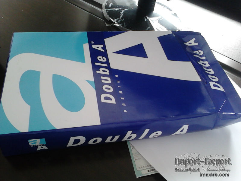 Double A Copy Paper A4 80gsm Factory Prices 500 Sheets $4/Box 2500 sheets