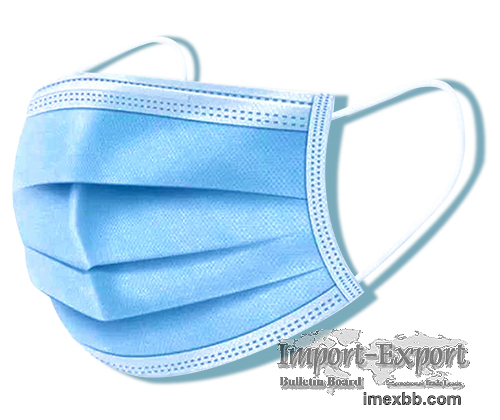 Disposable 3ply medical mask
