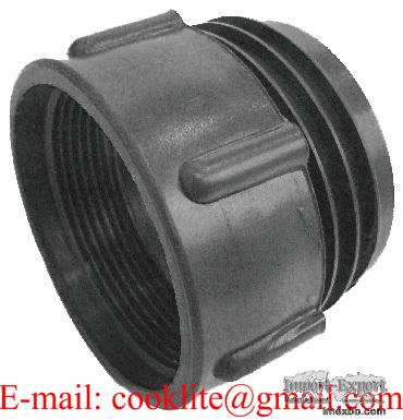 Adaptador para valvula de IBC 1000 rosca fina a gruesa