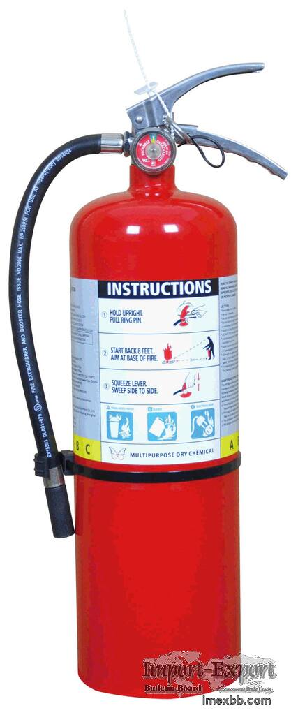 UL standard 2.5 lb - 20 lb multipurpose dry chemical powder fire extinguish