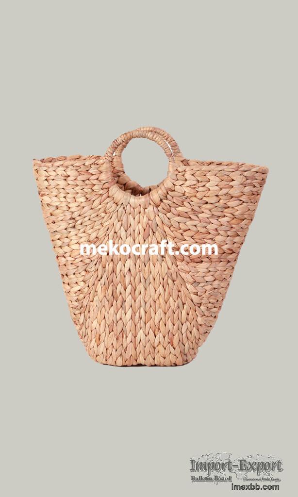 Vietnam Water Hyacinth Hand Bag-WG9002