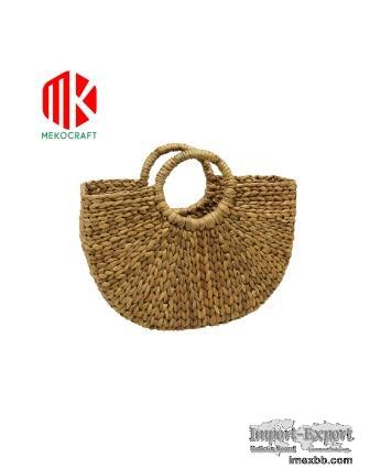 Vietnam Water Hyacinth Hand Bag-WG9001