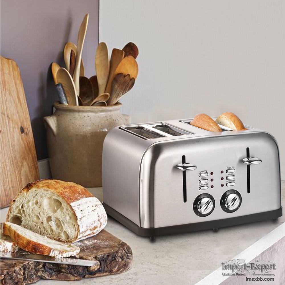 Retro Stainless Steel Toaster ST027 Retro Classic Design