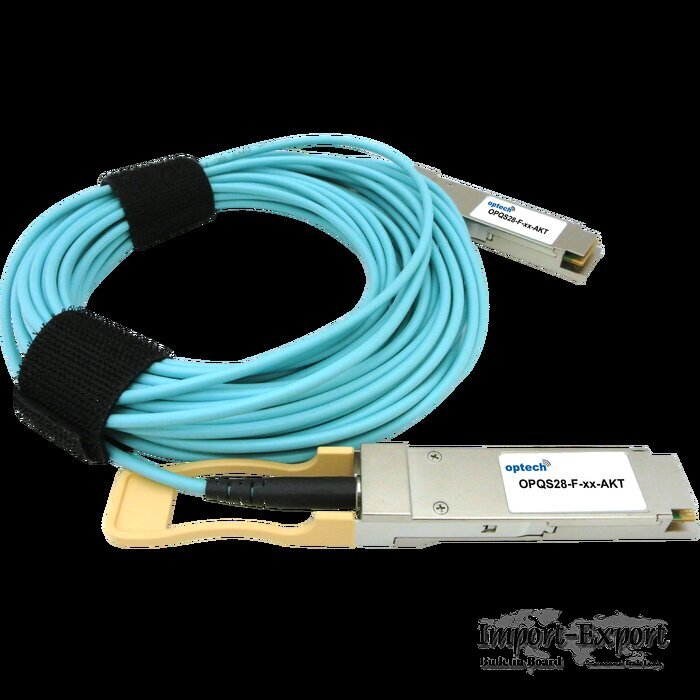 100Gbps QSFP28 Active Optical Cable