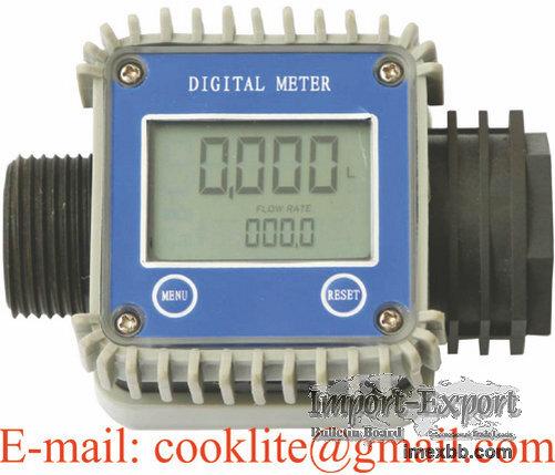 K24 Caudalimetro Liquido Combustible 1 Pulgada Medidor Digital Para Flujo