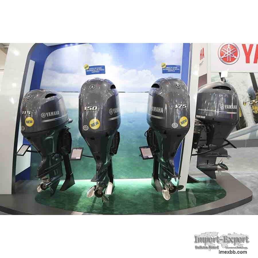 New and Used Yamaha, Suzuki, Mercury 4-Stroke Outboard Motors Marine Engine