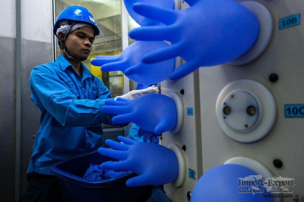 Powder Free Latex Gloves Disposable Medical Examination Nitrile Gloves