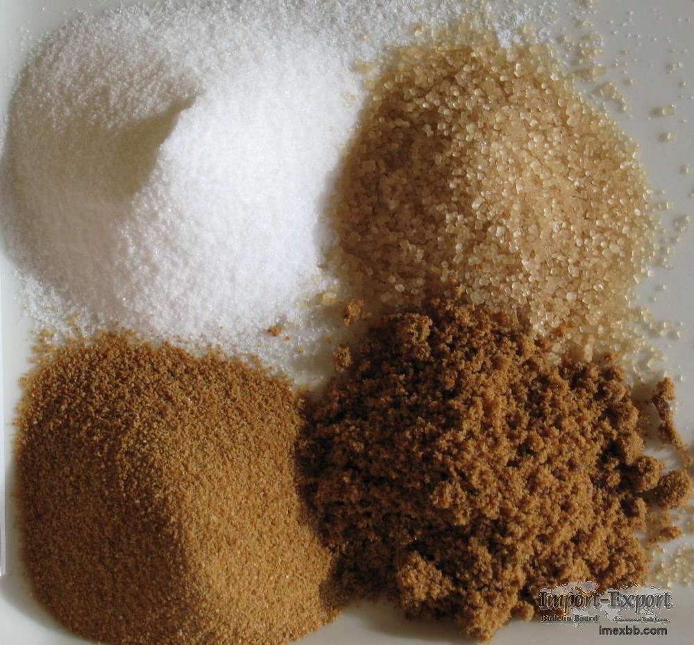 White and Brown Granulated Sugar, Refined Sugar Icumsa 45 White Brazilian