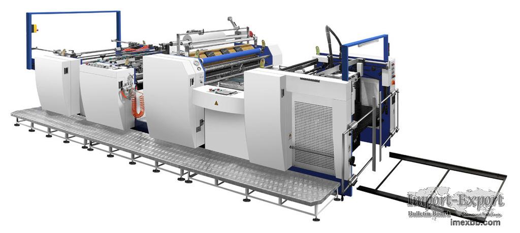 Automatic Laminating Machine Model YFMA-920L/1100L