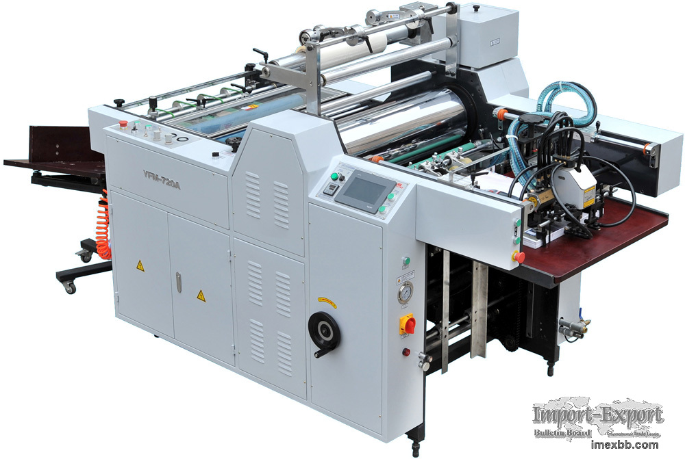 Mini Automatic Film Laminating Machine Model YFMA-520/720