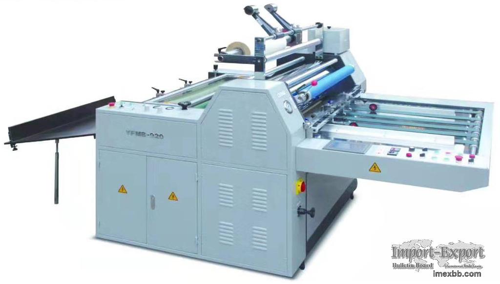 Semi-auto Laminating Machine Model YFMB-720/920/1100