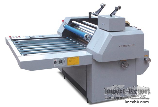 Thermal Laminating Machine Model YFME-720/920/1100