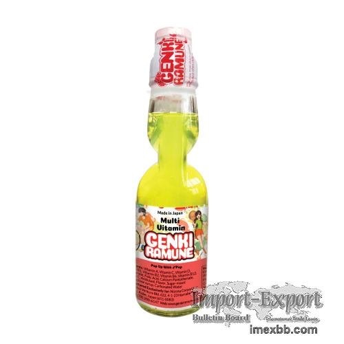 Multi Vitamin Genki (HEALTHY) Ramune Soda
