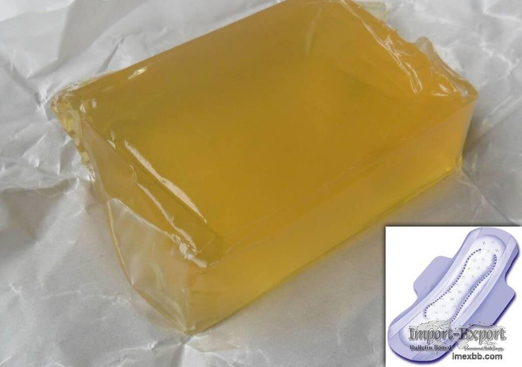 sanitary towel hotmelt glue