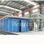 Sand Blasting Room for Large Metal Surface Cleaning