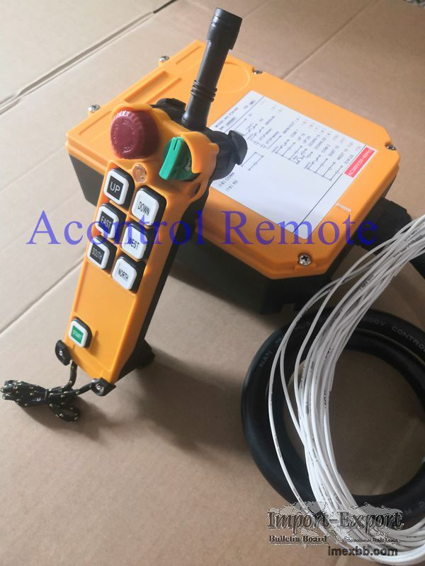F24-6D remote control for hoists
