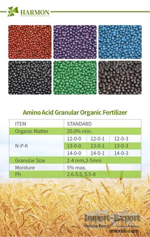 Organic amino acid NPK fertilizer,amino acid granular