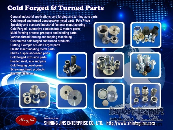 ,Fasteners and Bolts - Cold Forging And Precision Machining Parts
